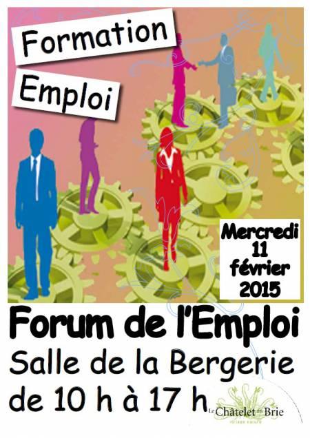 Forum de l emploi ch telet en brie toutes les facettes - Salon emploi paris 2015 ...